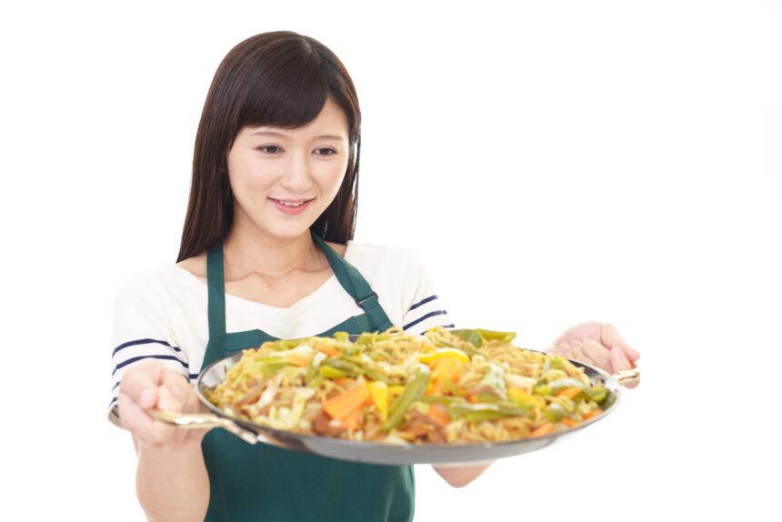 アルバイトパート料理女性